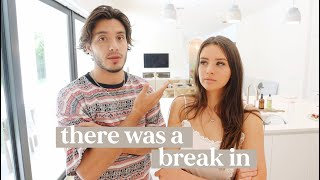 There was a break in... (Moving Vlog 2)
