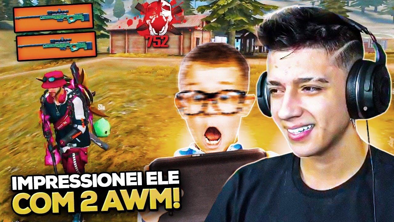 IMPRESSIONANDO GAROTO DE 11 ANOS COM 2 AWM