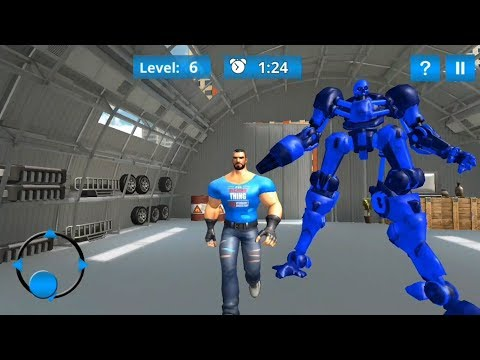 ► Futuristic Grand X Robot Car Mechanic 3D - Real Robot Mechanic 3D Update Android Gameplay