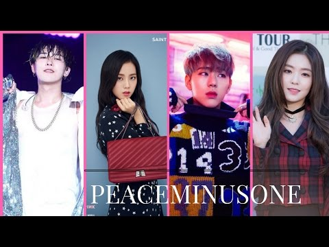 Korean Idols/Artist wearing PEACEMINUSONE 2