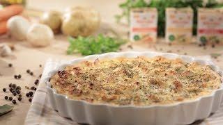 Кіш Лорен (відкритий пиріг з куркою) – прості кулінарні рецепти смачної випічки