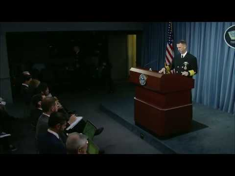 CNO Richardson Pentagon Press Conference on McCain, Fitzgerald Collisions