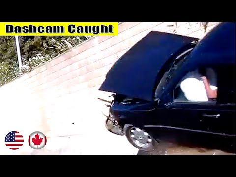 Ultimate North American Cars Driving Fails Compilation - 105 [Dash Cam Caught Video]