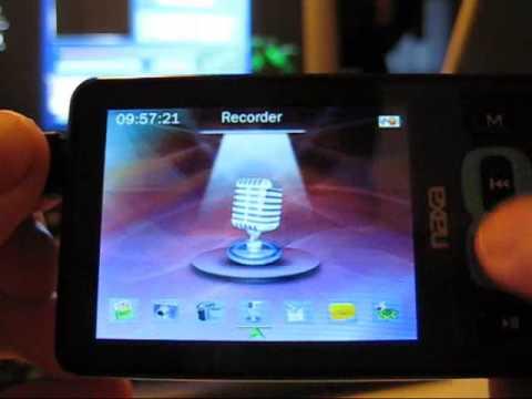 Naxa nx-151 Mp4 player review