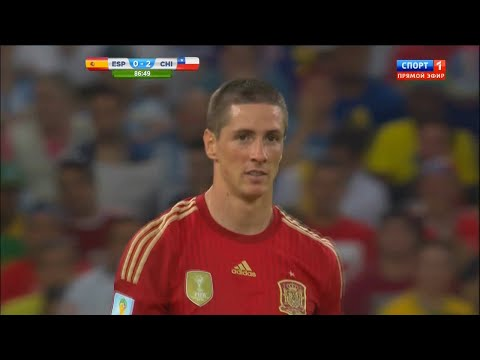 Fernando Torres vs Chile HD 720p (World Cup 2014)