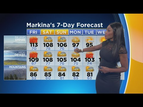Markina Brown's Weather Forecast (July 6)