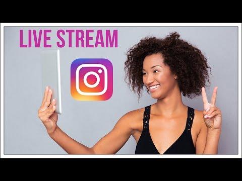 How To Live Stream On Instagram - Instagram Story Tutorial