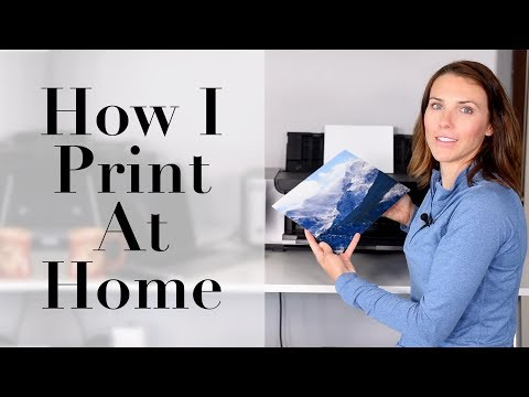 How I Print Photos At Home
