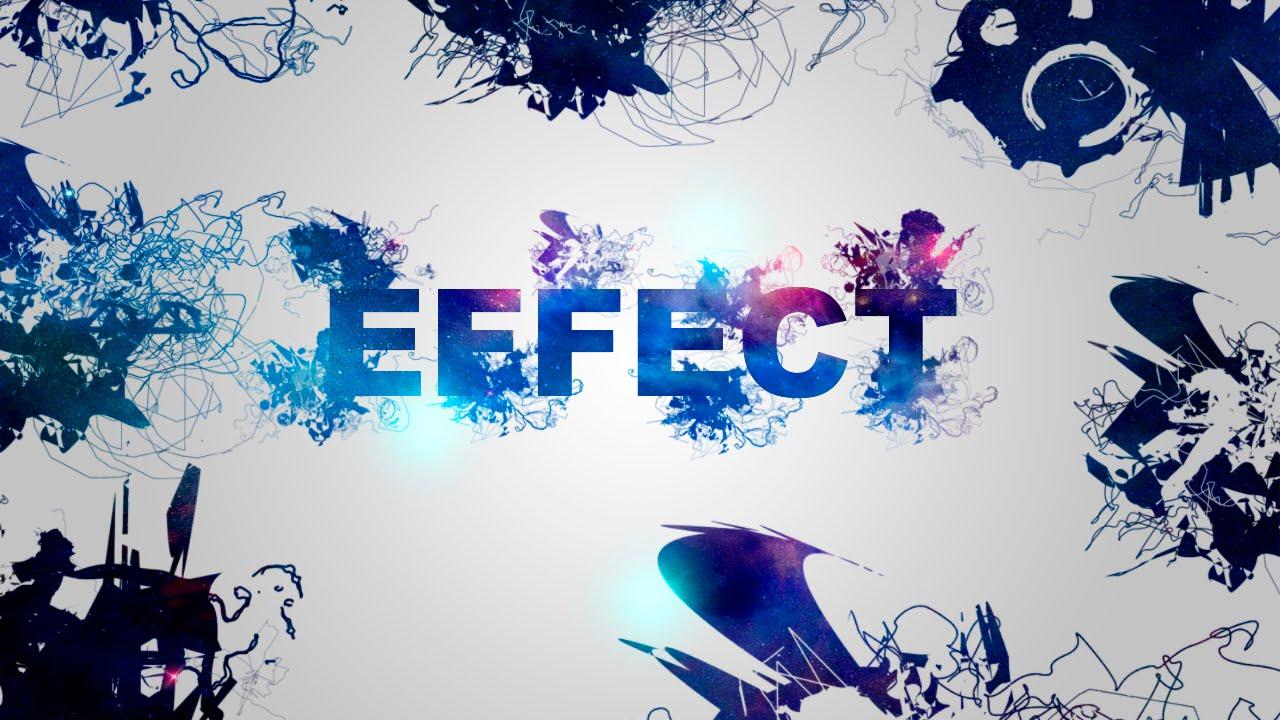 Эффекты в фотошопе с Текстом!!! - YouTube
