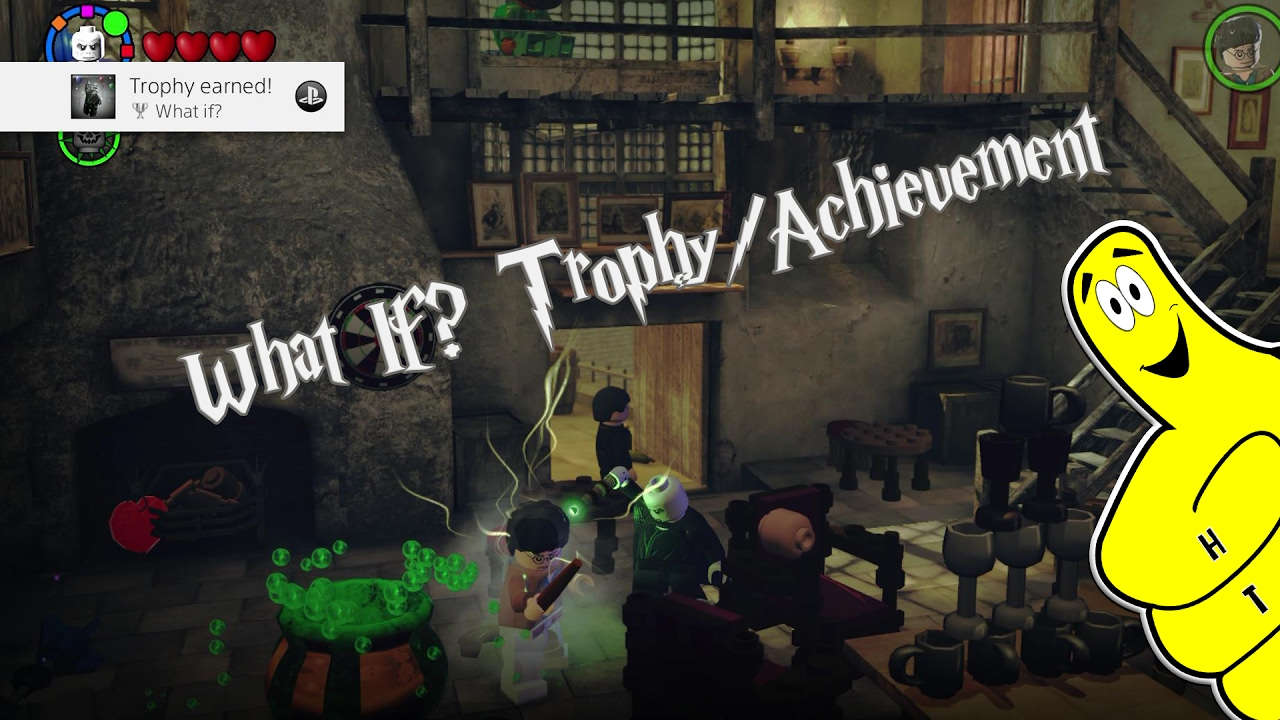 Lego Harry Potter 5 7 What If Trophy Achievement Htg Youtube
