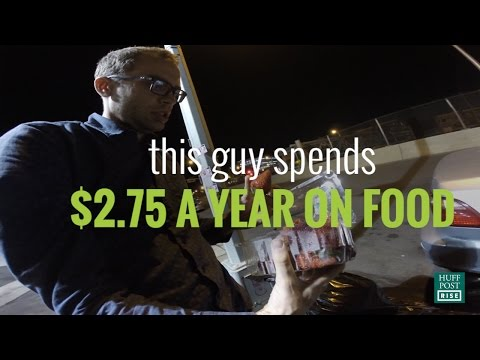 This Man Only Eats Perfectly Good Food Waste | HuffPost #Reclaim