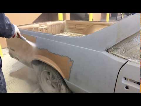 Dustless Blasting with Crushed Glass: TennesseeBlastingPros.com