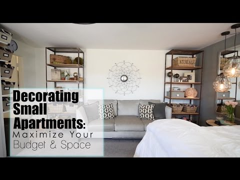 Maximize Your Space + Budget in Small Apartments - Interior Design