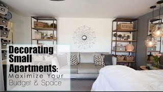 Maximize Your Space   Budget In Small Apartments | Interior Design