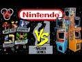 Nintendo NES Arcade Series Vs. The Original Arcades - Donkey Kong 1, Jr. & 3, Popeye & Mario Bros.