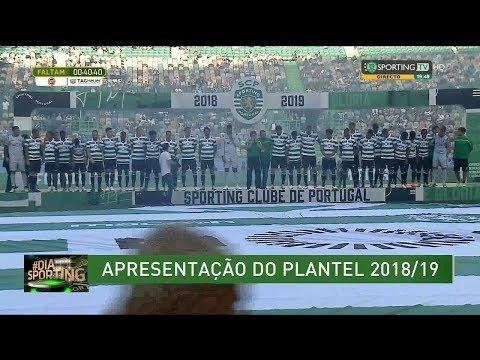 Apresentação do Plantel do Sporting Época 2018-19 - 28 Julho 2018