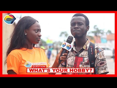 What's Your HOBBY? | Street Quiz | Funny Videos | Funny African Videos | African Comedy |