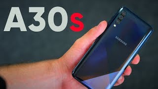 первый обзор Samsung Galaxy A30s
