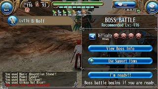 Toram Katana Lv116 VS Jade Ultimate