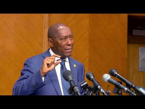Mayor Turner Talks About Aging Infrastructure In Houston
