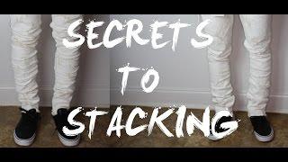 SECRETS TO STACKING DENIM!!