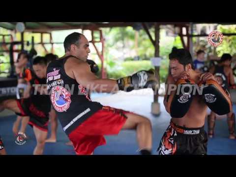 MuayThai Holiday packages to Tiger MuayThai and MMA Training Camp Phuket