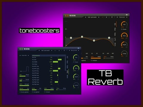 TB Reverb by toneboosters - iPad Live Demo