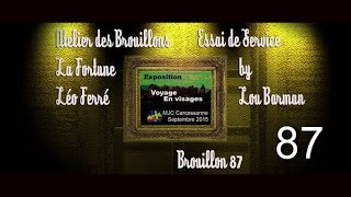 La Fortune (Léo Ferré) - Atelier des brouillons
