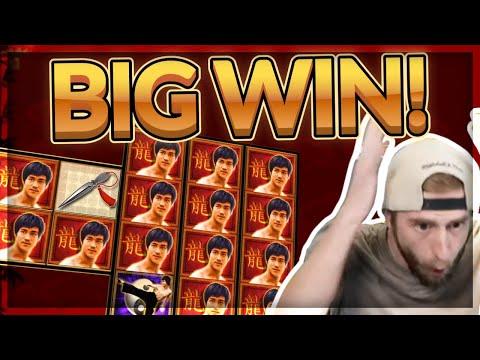 BIG WIN! Bruce Lee BIG WIN - Wild Lines?! - Casino Games From CasinoDaddy Live Stream