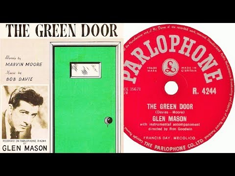 GLEN MASON   The Green Door (1956)