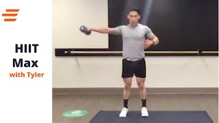 04/13- BE WELL LIVE CLASS KFIT HIIT: With Tyler 45 Min