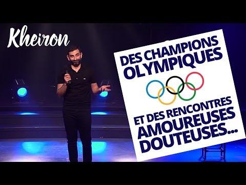 Des champions Olympiques et des rencontres amoureuses douteuses... - 60 minutes avec Kheiron