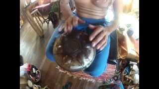 Sintonia Steel Tongued Hang Drum - 7 Notes