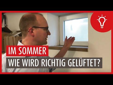 Lüftungstipps für den Keller an heißen und schwülen Sommertagen