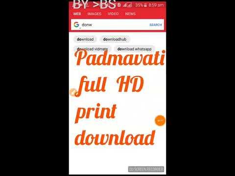 Padmavati Full HD Print Original Download 3 Quality