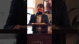 Michael A. Ferro Reading at Literati Bookstore (Ann Arbor, MI)