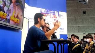 金森隆志 フィッシングショー大阪2017 木村建太とトーク