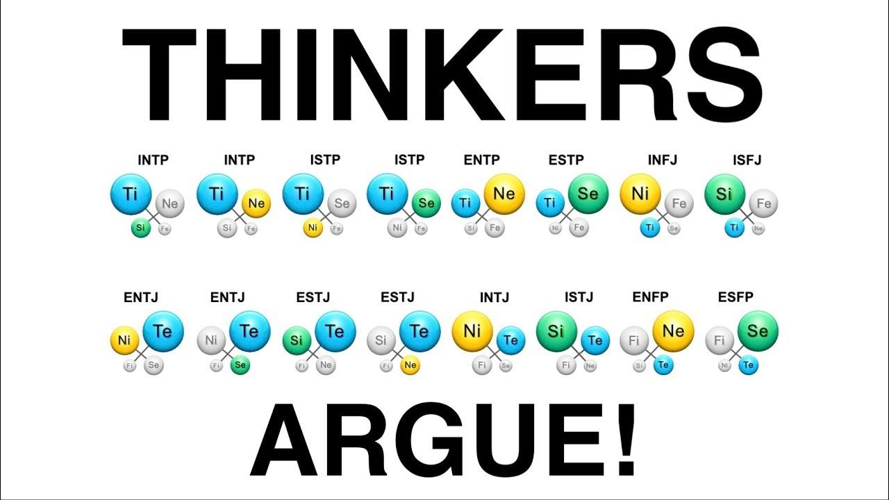THINKERS: Argue for argue sake!