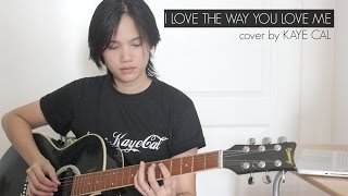 I Love The Way You Love Me - Boyzone (KAYE CAL Acoustic Cover)