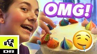 Sofia bager med sit idol: lærer hemmeligt trick! | Ultra Ægte