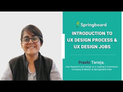 Introduction To Ux Design Process Ux Design Jobs What Does A Ux Designer Do Youtube