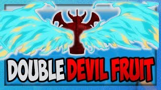 【SOP】HOW TO USE TWO DEVIL FRUIT POWERS?!! | STEVE'S ONE PIECE | ROBLOX