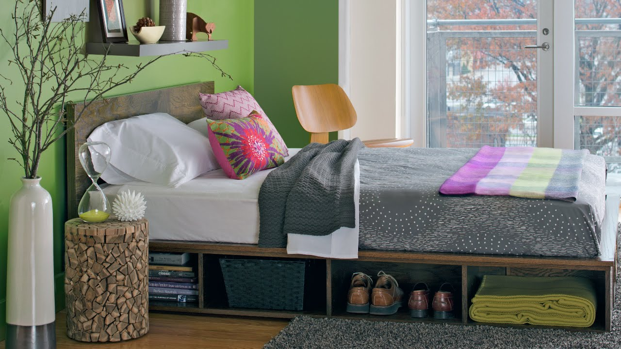 Diy Platform Beds With Storage -
