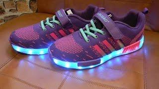 Кроссовки с лед подсветкой
