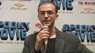 Zak Kilberg from MIDNIGHT SON at the Spooky Movie International Horror Film Festival