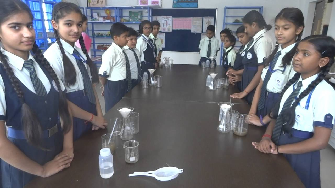 Mount Litera Zee School Haridwar Filtration Activity Youtube