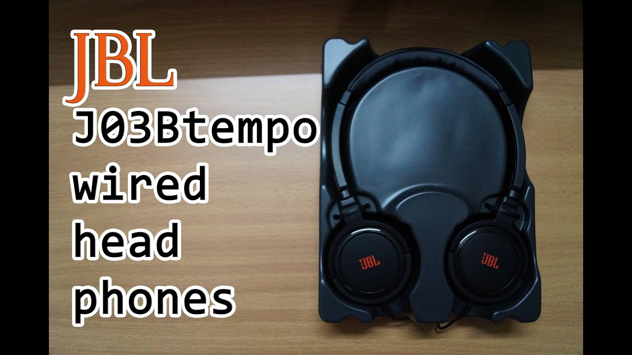 53dfb8ea2fe JBL J03B tempo wired headphones Unboxing and first Impressions ...