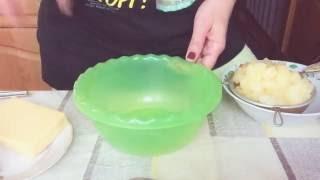 Как сделать салат из ананаса!