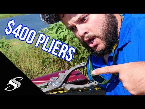 Would you Pay $400 for Fishing Pliers? Van Staal Unboxing