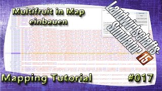 LS15 Giants Editor Map Tutorial #017 Multifruit in Map einbauen